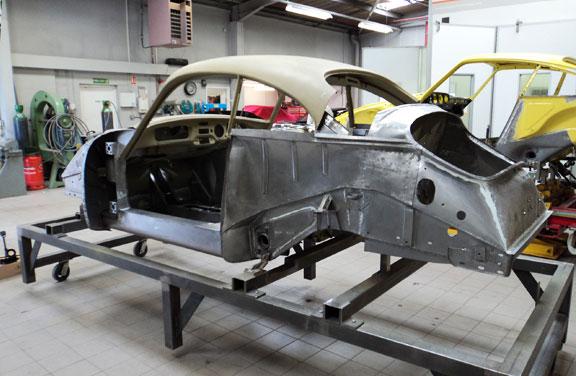 1956 Porsche 356 A Carrera Gs Restoration Project