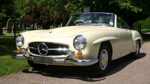 1959 MERCEDES 190SL RHD