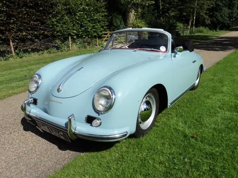 1959 356A Cabriolet.