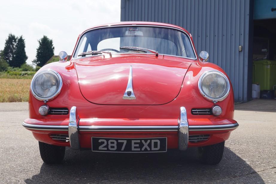 1962 Porsche 356B Coupe RHD